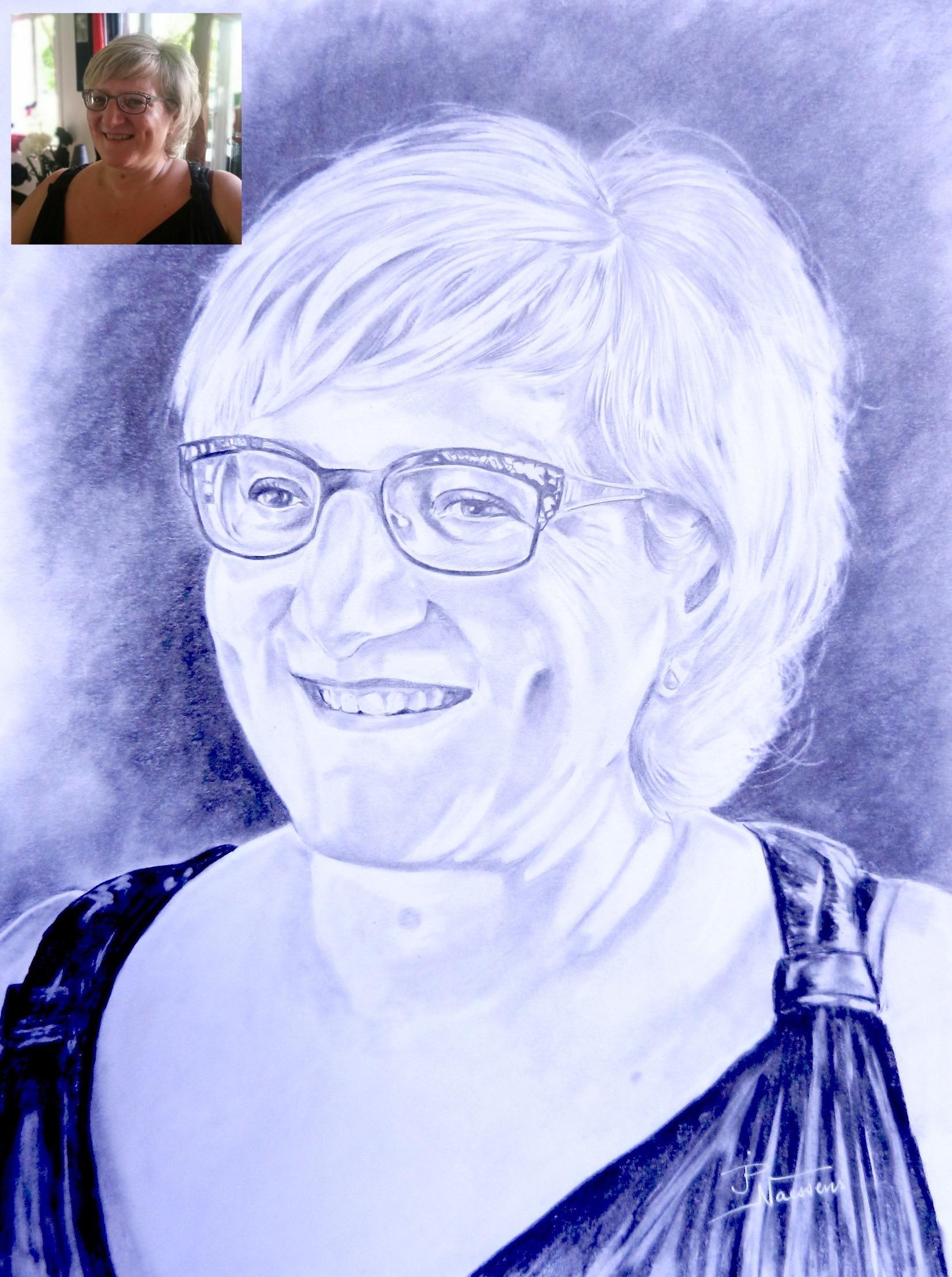 Cours De Dessin Montbéliard artiste portraitiste